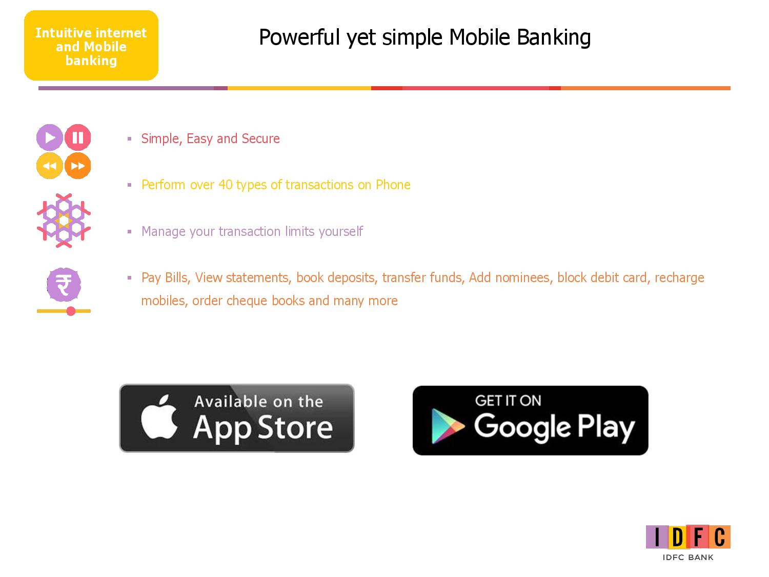 Simple Mobile Banking