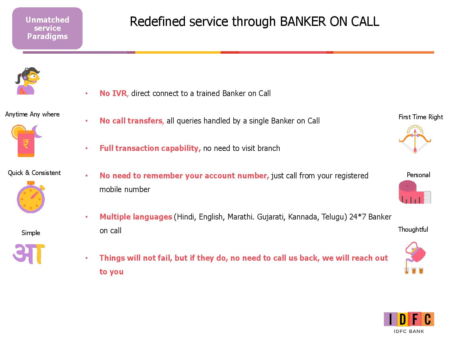 Redifined Service Through Banker