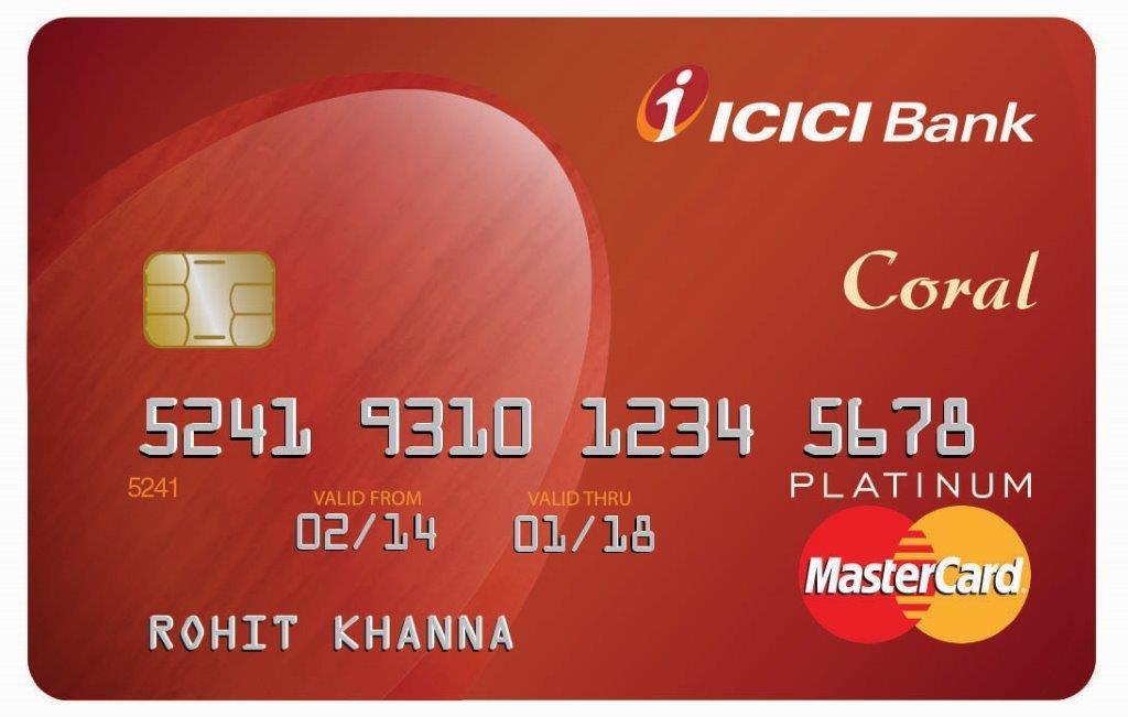 ICICI Bank HPCL Coral Visa/MasterCard Credit Cards